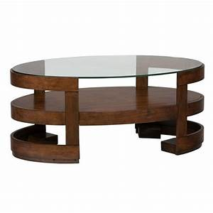 jofran avon oval wood coffee table in birch 348 1 With birch wood coffee table