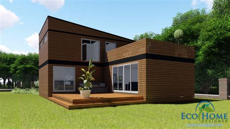 2 story home plans sch17 10 x 20ft 2 story container home plans eco home