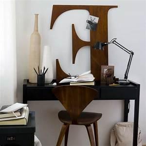 Schreibtisch An Der Wand : deko aus holz 27 verbl ffende ideen ~ Markanthonyermac.com Haus und Dekorationen