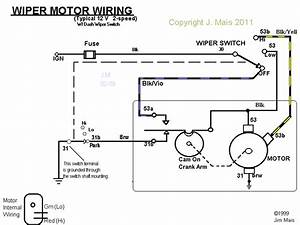 How To Wire Generic 2-speed Wiper Switch