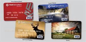 visa card design the national bank in sioux falls debit card overhaul