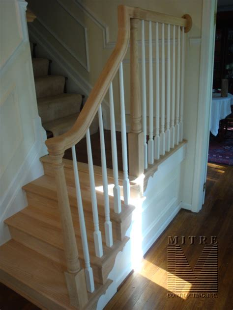Stairway And Railing Renovation  Mitre Contracting, Inc