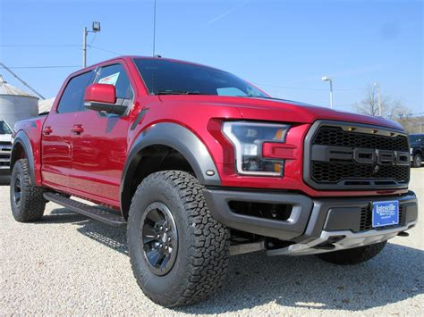 Ford F 150 Mileage by Almost No Mileage 2017 Ford F 150 Raptor Crew Cab New For Sale