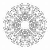 Monday Mandala Coloring Pages Colour Gentlemancrafter sketch template