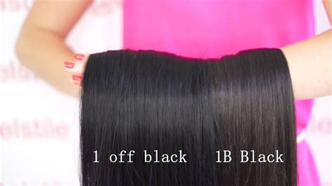1b color choosing right color clip in hair extensions 20 quot 160 g 1b