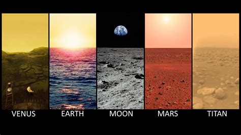 Horizons: Earth, Moon, Mars : space