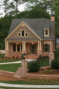 Front Porch Wonderful Home Exterior Design With Brown ...