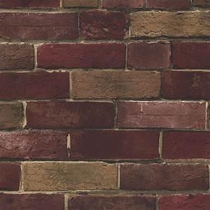 Norwall Photo Brick Wallpaper