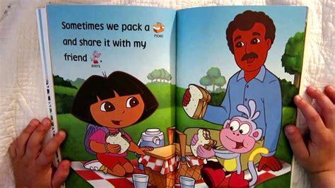 dora  explorer  love  papi read aloud story book