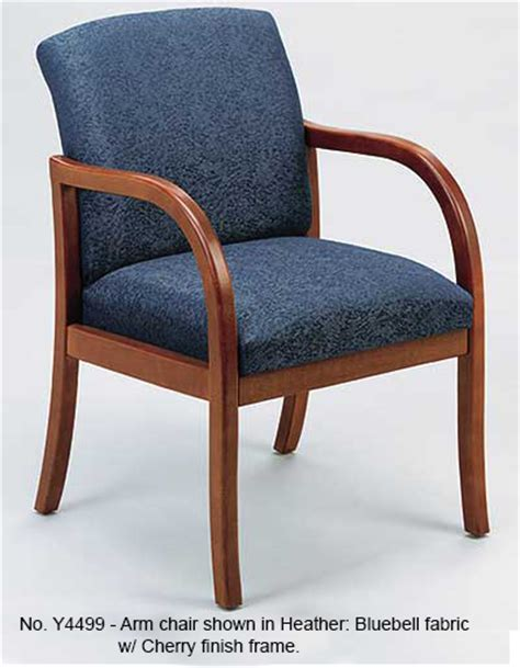 weston transitional reception seating arm chair