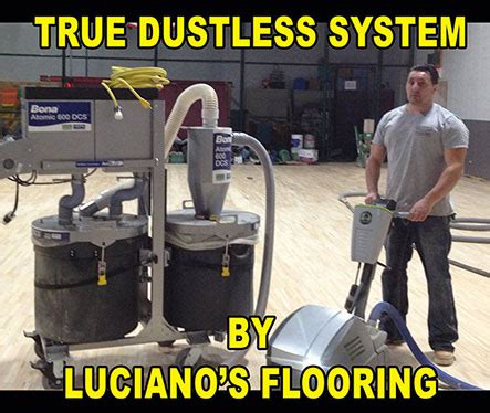 Dustless Floor Sanding Machines by Chicago Hardwood Flooring Luciano S Hardwood Flooring