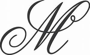 Letter M Monogram Clipart - ClipartXtras