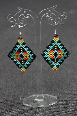 native american beaded earrings style beadwork native