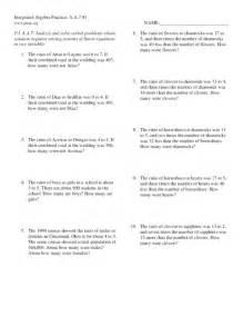 Writing And Balancing Chemical Equations Worksheet Systems Of Equations Word Problems Worksheet Virallyapp Printables Worksheets
