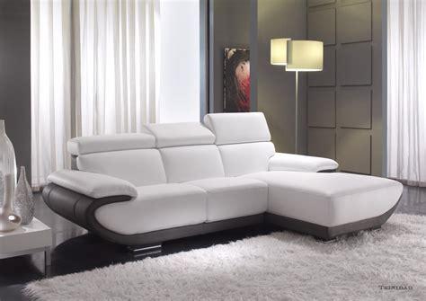 canapé contemporain canape cuir contemporain maison design wiblia com