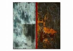 Abstrakte Kunst Kaufen : moderne abstrakte malerei kunst bilder rost patina galerie inspire art ~ Watch28wear.com Haus und Dekorationen