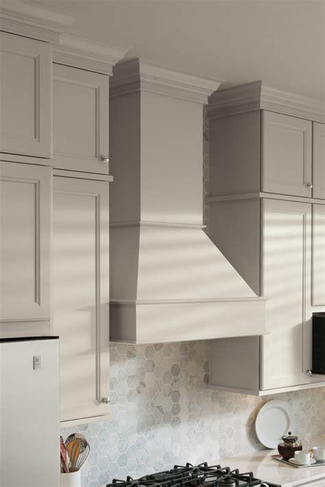 square wood hood tall chimney aristokraft cabinets