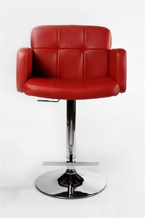 clp los angeles breakfast bar stool red  kitchen accessories