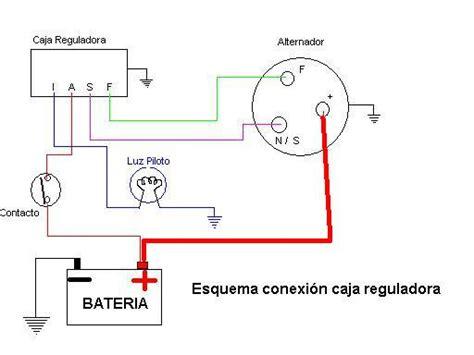 diagrama de regulador de voltaje de ford