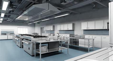 Kitchen Exhaust Revit by Commercial Kitchen 3d Model Wirecase
