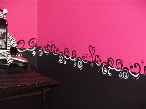 The Walls Are Painted In Black #Pinterest #The #Worlds #Catalog #Of #Ideas