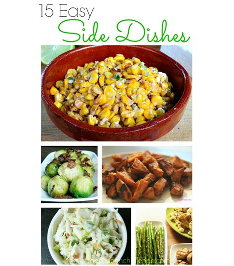 easy side dishes 15 easy side dishes