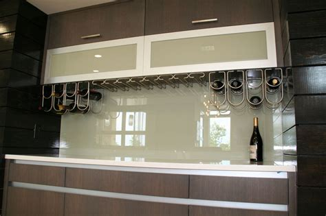 easy to clean backsplash glass backsplashes no seams no grout easy to clean what more could you want how about