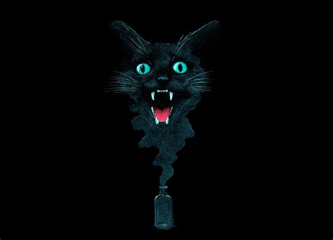Black Cat Magic by Victor Calahan   Threadless