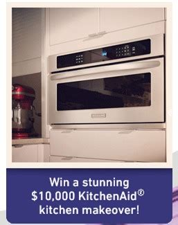 how to win a free kitchen makeover enter to win a kitchenaid kitchen makeover and a 1 year 9600