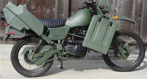 Harley Mt-500 Off Road Military Motorcycle.