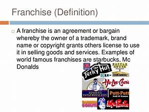 Franchise by yinka ppt