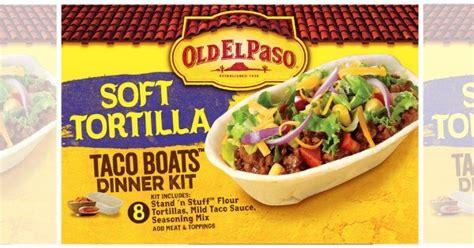 Paper Taco Boats by Free El Paso Taco Boats Flour Tortilas At Shoprite