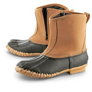 guide gear side zip insulated duck boots 618214 winter snow boots at sportsman 39 s guide