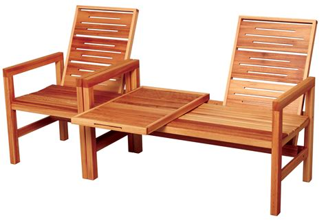 outdoor wood furniture from creative woodwork