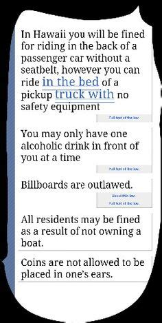dumb laws  usa  pinterest  states safety  texas