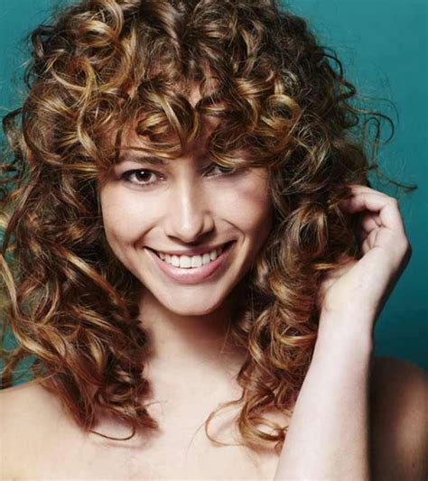 incredible curly hairstyles  bangs blushery