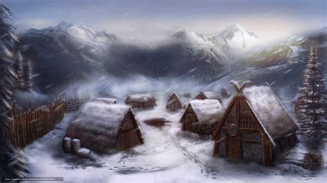 viking bureau tlcharger fond d 39 ecran vikings maison neige