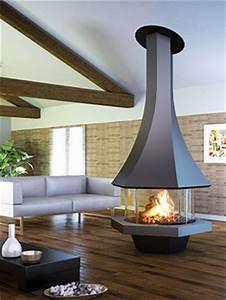 Cheminée Centrale Prix : cheminee centrale granule ~ Premium-room.com Idées de Décoration