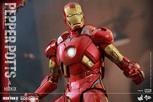 Marvel Pepper Potts and Mark IX Sixth Scale Figure Set by ...