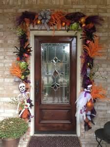 Halloween Garland Door Decoration