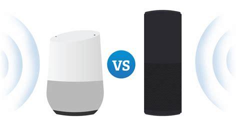 Google Home Vs Echo Echo Vs Google Home