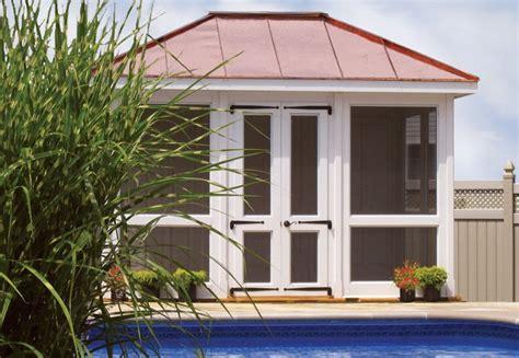 cabana style modular pool house vixen hill