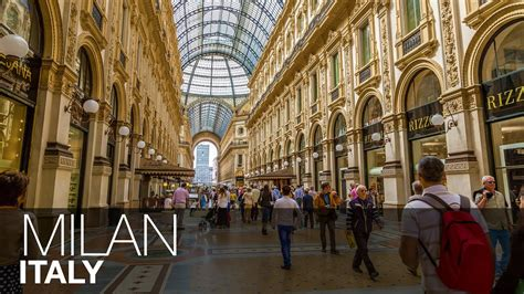 Capital Of Fashion Milan Italy Youtube