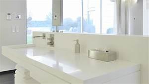 Lavabo angle salle bain for Vasque resine salle de bain