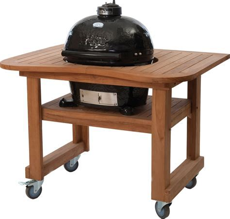 Primo 774 21 Inch Freestanding Ceramic Kamado Grill with