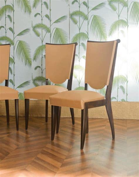 chaises, vintage, art déco, années, 1930, 1940, moleskine
