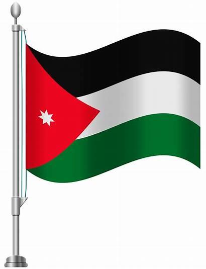 Jordan Flag Clip Clipart Transparent Clipartpng 1819