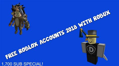 roblox accounts   robux youtube