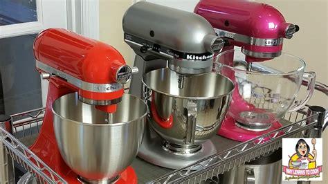 kitchenaid tilt head stand mixer comparison artisan