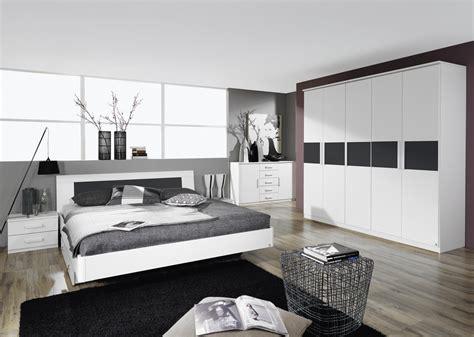 deco chambre adulte blanc lit adulte design avec chevets coloris blanc carcassonne